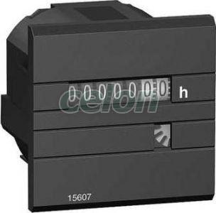 CH üzemóra számláló 12/36VDC, 48x48 15609 - Schneider Electric, Automatizálás és vezérlés, Interfész, mérő- és vezérlőrelék, Schneider Electric