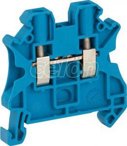 Clema sir 2.5mm2 Albastru  - Schneider Electric, Materiale si Echipamente Electrice, Elemente de conexiune si auxiliare, Conexiuni, cleme şir, Cleme industriale, Schneider Electric
