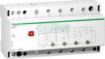 ACTI9 CDSC terhelésfigyelő kontaktor, 4 csatornás, 240V egyfázisú A9C15906 - Schneider Electric, Moduláris készülékek, Installációs kontaktorok, Schneider Electric