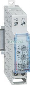 Lexic Időrelé Többfunkciós 8A 250V~ 004744-Legrand, Moduláris készülékek, Impulzusrelék, relék, Legrand