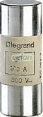 Lexic Hengeres Olvadóbiztosító 40A Gg 22 X58 Ütőszeg Nélkül 015340-Legrand, Egyéb termékek, Legrand, Segédanyagok és ipari alkalmazások, Lexic ipari olvadóbiztosítók, Legrand