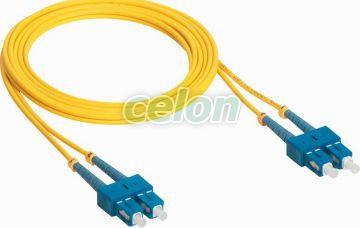 1M Sc/Sc 9/125Micron Cord 032600-Legrand, Materiale si Echipamente Electrice, Cablare structurata, Cablare structurată - Legrand, Fibre optice Legrand, Legrand
