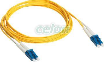 P.Cord Lc/Lc Os1/Os2 5M Dupl 032629-Legrand, Materiale si Echipamente Electrice, Cablare structurata, Cablare structurată - Legrand, Fibre optice Legrand, Legrand