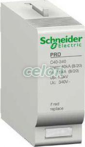 Túlfeszültség-korlátozó cserebetét C40-340 16685  - Schneider Electric, Moduláris készülékek, Túlfeszültség levezetők, Schneider Electric