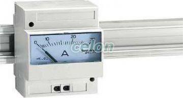 Ampermetru analogic modular amp - 0...30 a - Contoare, aparate de masura tensiune, frecventa... - Powerlogic amp - 16029 - Schneider Electric, Aparataje, Contoare electrice, Aparate de măsură, Aparate de măsură modulare care se pot fixa pe şină de montaj, Ampermetre modulare, Schneider Electric