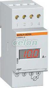Ampermetru digital modular amp - 230 v - 5...5000 a - Contoare, aparate de masura tensiune, frecventa... - Powerlogic amp - 15209 - Schneider Electric, Aparataje modulare, Contoare electrice, Aparate de măsură, Aparate de măsură modulare care se pot fixa pe şină de montaj, Ampermetre modulare, Schneider Electric