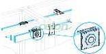 Prisma plus-p system- imbinare pt. bare colectoare orizontale 80-100 mm - Tablouri electrice de joasa tensiune - prisma plus - Prisma plus system p - 4641 - Schneider Electric, Materiale si Echipamente Electrice, Tablouri cofrete, dulapuri, Tablouri electrice de joasa tensiune - Prisma Plus, Schneider Electric