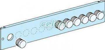 Prisma plus-g&p system- placa frontala cu decupaje pt. butoane cu diam. 22 mm - Tablouri electrice de joasa tensiune - prisma plus - 3914 - Schneider Electric, Materiale si Echipamente Electrice, Tablouri cofrete, dulapuri, Tablouri electrice de joasa tensiune - Prisma Plus, Schneider Electric