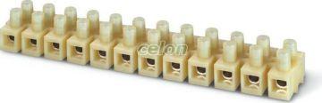 Clema sir 12x 35mm2 CONNECTO 815.1366  - Scame, Materiale si Echipamente Electrice, Elemente de conexiune si auxiliare, Conexiuni, cleme şir, Cleme şir flexibile si bachelita