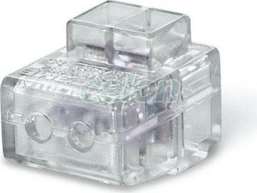 Clema cablu de capat 2x6mm2 CONNECTO 817.0602  - Scame, Materiale si Echipamente Electrice, Elemente de conexiune si auxiliare, Conexiuni, cleme şir, Conexiuni cu şurub, Scame