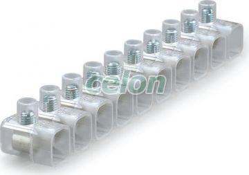 Clema cablu de capat Transparent 2.5mm2 CONNECTO 812.374  - Scame, Materiale si Echipamente Electrice, Elemente de conexiune si auxiliare, Conexiuni, cleme şir, Conexiuni cu şurub, Scame