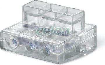 Clema cablu de capat 3x35mm2 CONNECTO 817.3503  - Scame, Materiale si Echipamente Electrice, Elemente de conexiune si auxiliare, Conexiuni, cleme şir, Conexiuni cu şurub, Scame