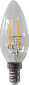 Bec Led COG Lumanare E14 2W Clar Alb Rece 5800k 230V - Lumen, Surse de Lumina, Lampi si tuburi cu LED, Becuri LED forma lumanare, Lumen