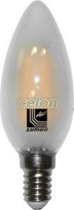 Ledes izzó COG Gyertya formájú Szabályozható E14 4W Fehér Meleg Fehér 2800k 230V - Lumen, Fényforrások, LED fényforrások és fénycsövek, LED Gyertya izzók, Lumen