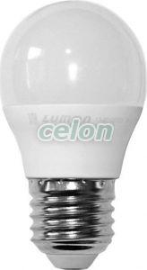 Bec Power Led Sferic Dimabil E27 6W Mat Alb Cald 3000k 230V - Lumen, Surse de Lumina, Lampi si tuburi cu LED, Becuri LED sferic, Lumen