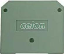 Placa de separat circuite pentru cleme 2.5mm2 32-520  - Noratex, Materiale si Echipamente Electrice, Elemente de conexiune si auxiliare, Conexiuni, cleme şir, Accesorii cleme industriale, Noratex