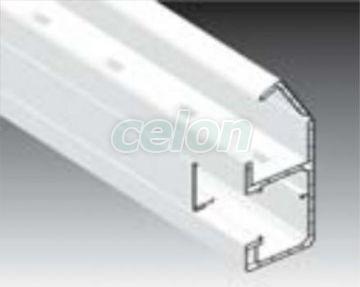 PAT CABLU PVC+CAPAC CU PERETE DUBLU 90X55 ALB, Materiale si Echipamente Electrice, Outlet, Kopos