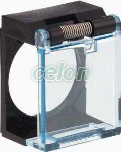 Obturator de protecție pentru buton rotund sau pătrat - Butoane si lampi din plastic Ø16 - Harmony xb6 - ZB6YA001 - Schneider Electric, Automatizari Industriale, Butoane, Comutatoare, Lampi, cutii cu butoane si joystickuri, Butoane si lampi din plastic Ø16, Accesorii pentru butoane, selectoare si lampi din plastic, Schneider Electric
