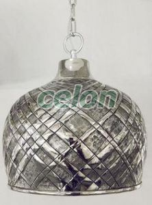 Függeszték SALTASH 1x60W D:315mm 49675   - Eglo, Világítástechnika, Beltéri világítás, Ipari és Vintage design lámpák, Eglo