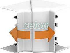Optiline 45 - colț interior - pc/abs - alb - Sisteme de canale optiline 45 - 95x55 mm - Optiline 45 - ISM10201 - Schneider Electric, Materiale si Echipamente Electrice, Sisteme de canale, instalatii in pardoseala, coloane si minicoloane, Sisteme de canale, instalatii in pardoseala, coloane Optiline - Schneider Electric, Sisteme de canale Optiline 45 - 95x55 mm, Schneider Electric