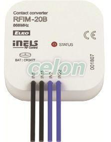 switch, 4 inputs RFIM-20B -Elko Ep, Alte Produse, Elko Ep, iNELS RF Control >Wireless control, Controleri, Elko EP
