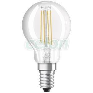 Bec Led Sferic 4W E14 Alb Cald - Osram, Surse de Lumina, Lampi si tuburi cu LED, Becuri LED sferic, Osram