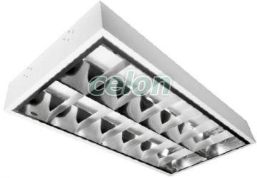 Falon kívüli Lámpa 2x18W MF0011-00410   - Comtec, Világítástechnika, Kereskedelmi és ipari világítás, Falon kivüli fénycsöves beltréri lámpák, Comtec