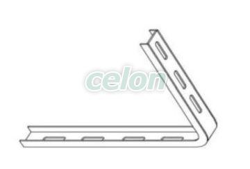 Profil fixare 100x150mm ERE 12-131  - Metalodom, Materiale si Echipamente Electrice, Pat cabluri metalice si pvc, Pat cabluri metalice, jgheaburi metalice, Metalodom