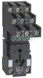 RXM miniatűr relé foglalat, RXM3x relékhez, szeparált elrendezésű, csatlakozós RXZE2S111M - Schneider Electric, Automatizálás és vezérlés, Interfész, mérő- és vezérlőrelék, Interfész relék, Schneider Electric