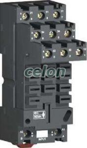 Aljzat RUM típ. reléhez RUZSF3M - Schneider Electric, Automatizálás és vezérlés, Interfész, mérő- és vezérlőrelék, Interfész relék, Schneider Electric