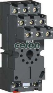 Priză ruz - contact separat - 12 a - < 250 v - conector - pt. releu rumc2.. - Relee de interfata - Zelio relaz - RUZSC2M - Schneider Electric, Automatizari Industriale, Relee de interfata, masura si control, Relee de interfata, Schneider Electric