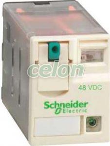Schneider Electric - RXM3AB2ED - Zelio relaz - Interfész relék, Automatizálás és vezérlés, Interfész, mérő- és vezérlőrelék, Interfész relék, Schneider Electric