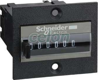 Contor totalizator - afișaj mecanic cu 6 cifre - 115 v c.a. - Contoare multifunctionale - Zelio count - XBKT60000U11M - Schneider Electric, Automatizari Industriale, Contoare multifunctionale, Schneider Electric