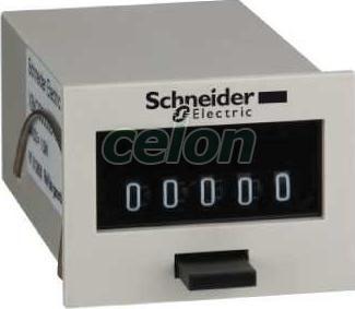 Contor totalizator zelio count - afișaj mecanic cu 5 cifre - 115 v c.a. - Contoare multifunctionale - Zelio count - XBKT50000U11M - Schneider Electric, Automatizari Industriale, Contoare multifunctionale, Schneider Electric