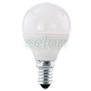Bec Led Forma Clasica 1x4W E14 Alb 4000k - Eglo, Surse de Lumina, Lampi si tuburi cu LED, Becuri LED forma clasica, Eglo
