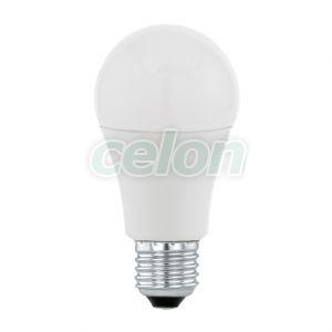 Bec Led Forma Clasica 1x10W E27 Alb Cald 3000k - Eglo, Surse de Lumina, Lampi si tuburi cu LED, Becuri LED forma clasica, Eglo