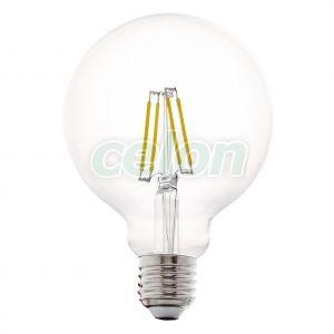 Ledes Globe izzó 1x4W E27 Meleg Fehér 2700k - Eglo, Fényforrások, LED fényforrások és fénycsövek, LED nagygömb izzók, Eglo