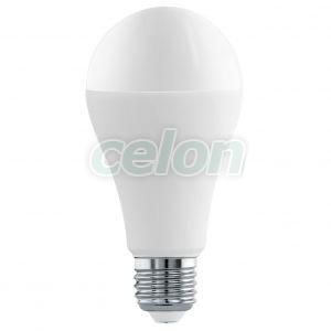 Bec Led Forma Clasica 1x16W E27 Alb 4000k - Eglo, Surse de Lumina, Lampi si tuburi cu LED, Becuri LED forma clasica, Eglo