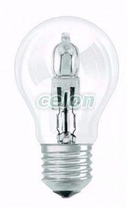 Bec Eco Halogen Forma Clasica 53W E27 - Osram, Surse de Lumina, Surse de iluminat cu halogen, Becuri cu halogen forma clasica, Osram