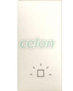 Clapeta Simbol Selector Lumin,1Mod,Fild MGU9.100.25L - Schneider Electric, Prize - Intrerupatoare, Gama Unica - Schneider Electric, Aparataj Unica - Fildes, Schneider Electric