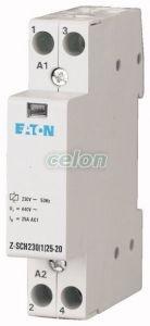 Installation Contactor Z-SCH230/1/25-20 -Eaton, Aparataje modulare, Contactoare pe sina, Eaton
