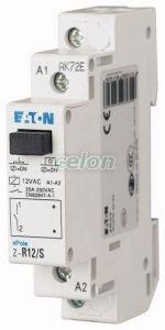 Installációs relé, 2z, 20A(AC1), 60Hz 110V AC vez. Z-R111/SS -Eaton, Moduláris készülékek, Impulzusrelék, relék, Eaton