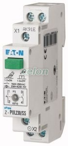 Push Button With Led Z-PUL230/SS -Eaton, Aparataje modulare, Butoane modulare, Eaton