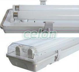 CORP NEON ETANS 2X36W IP65, Corpuri de Iluminat, Iluminat comercial si industrial, Corpuri de iluminat protejate la umezeala si praf, Office