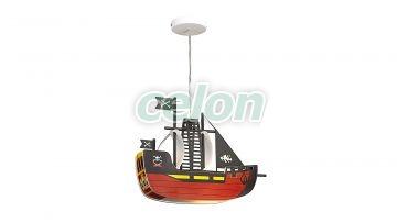 Függeszték 37cm Ship 4719 Rábalux, Világítástechnika, Beltéri világítás, Gyerekszobai és dekor lámpák, Rabalux