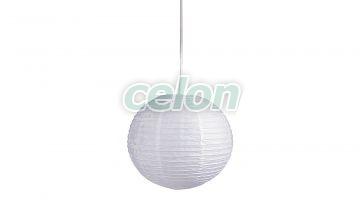 Függeszték d40cm fehér Rice papír 4898 Rábalux, Világítástechnika, Beltéri világítás, Gyerekszobai és dekor lámpák, Rabalux