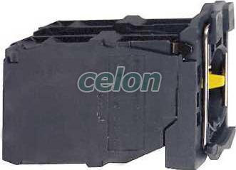Joystick aljzat ZD5PA203 - Schneider Electric, Automatizálás és vezérlés, Müködtető- és jelzőkészülékek, Műanyag működtető- és jelzőkészülék-Harmony 5-os sorozat-22mm, Műanyag karos kapcsolók Ø22, Schneider Electric