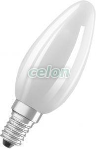 Bec Led Forma Lumanare PARATHOM RETROFIT CLASSIC B DIM 4.50W 470lm E14 B35 Dimabil 2700k Alb Cald Osram, Surse de Lumina, Lampi si tuburi cu LED, Becuri LED forma lumanare, Osram