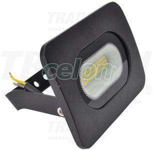 SMD fényvető, fekete 220-240V AC, 20W, 4000K, IP65, 1500lm, EEI=A, Világítástechnika, Fényvetők, LEDes fényvetők, Tracon Electric