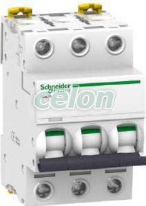 Siguranta automata  Ic60n Acti9  3P 10A 20 kA C A9F74310  - Schneider Electric, Aparataje modulare, Sigurante automate, Sigurante tripolare 3P, Schneider Electric
